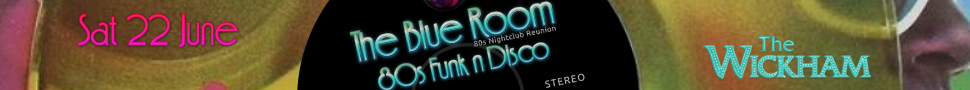 Prince Party Blue Room Disco Wickham Hotel